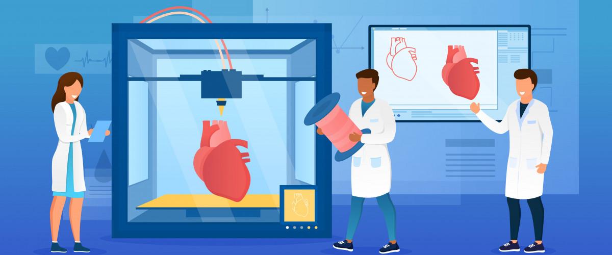 3D Yazıcı ile Kalp Pompası Üretildi!